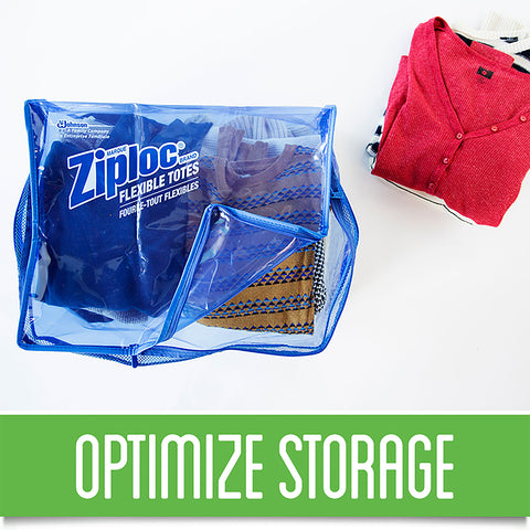 Ziploc Flexible Totes XL - 4 Pack