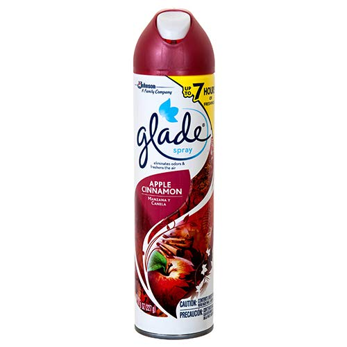 New 357292 Glade Spray Apple Cinnamon 8 Oz Air Freshener Cheap Wholesale Discount Bulk Cleaning Air Freshener Bud Vase - 12 Pack