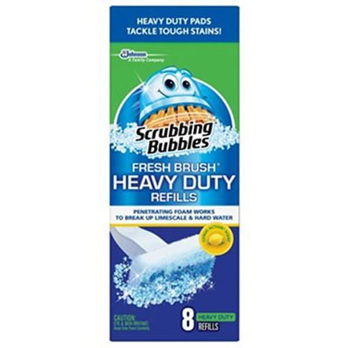 Scrubbing Bubbles Fresh Brush Heavy Duty , 4 Pack