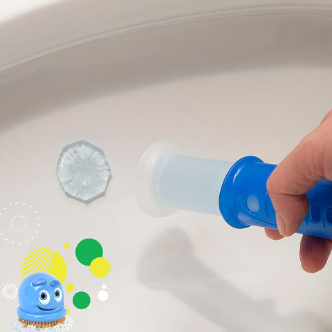 Scrubbing Bubbles Fresh Gel Toilet Cleaning Stamp Rainshower 4 Refills 3 Packs