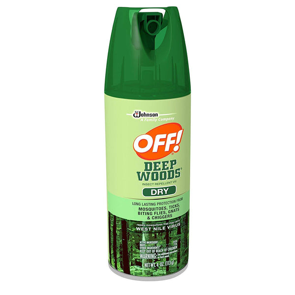 OFF! Deep Woods Sportsman Insect Repellent (Pack - 3, 4 OZ)