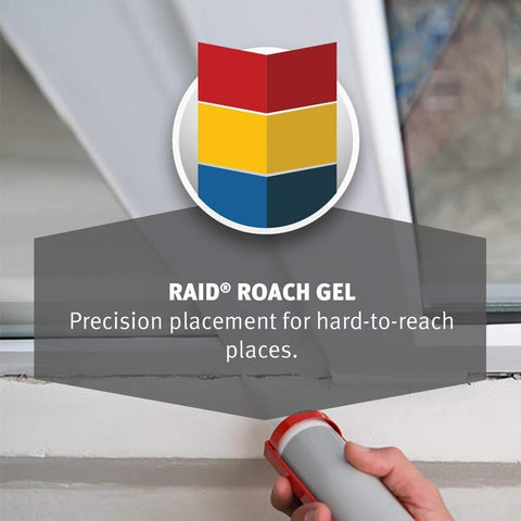 Raid Roach Gel, 1.5 oz, 4 Pack