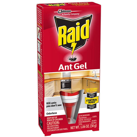 Raid Ant Gel, 1.06 oz, 6 Pack