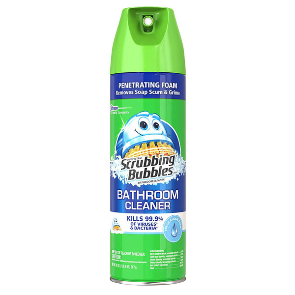 Scrubbing Bubbles Bathroom Grime Fighter Rainshower 20 Oz - 6 Pack