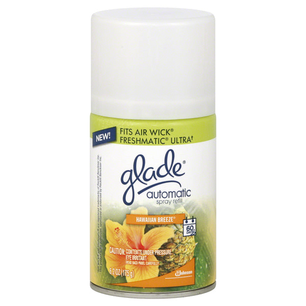 Glade Automatic Spray Refill, Hawaiian Breeze, 6.2 oz