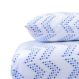 Oasis Dot Chevron Crib Sheet