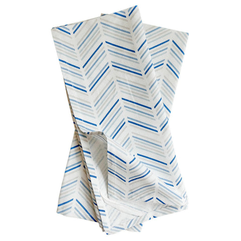 Celestial Modern Chevron Tea Towels, Set of 2