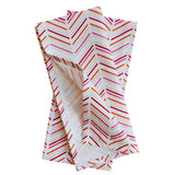 Pomegranate Modern Chevron Tea Towels, Set of 2
