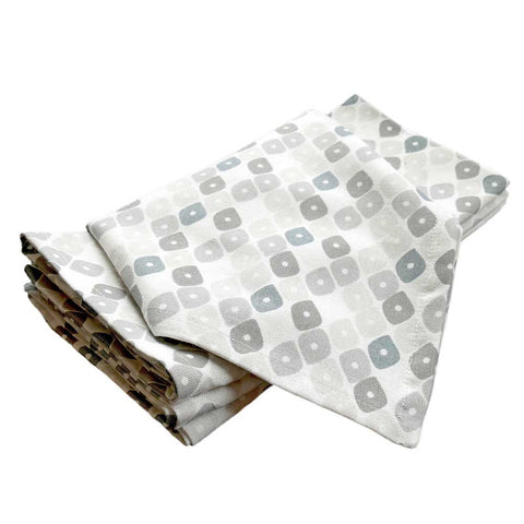 Birch Candy Lattice Napkins, Set of 4