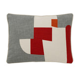 "Abstract Charcoal Accent Pillow Cover, 15"" x 20"""