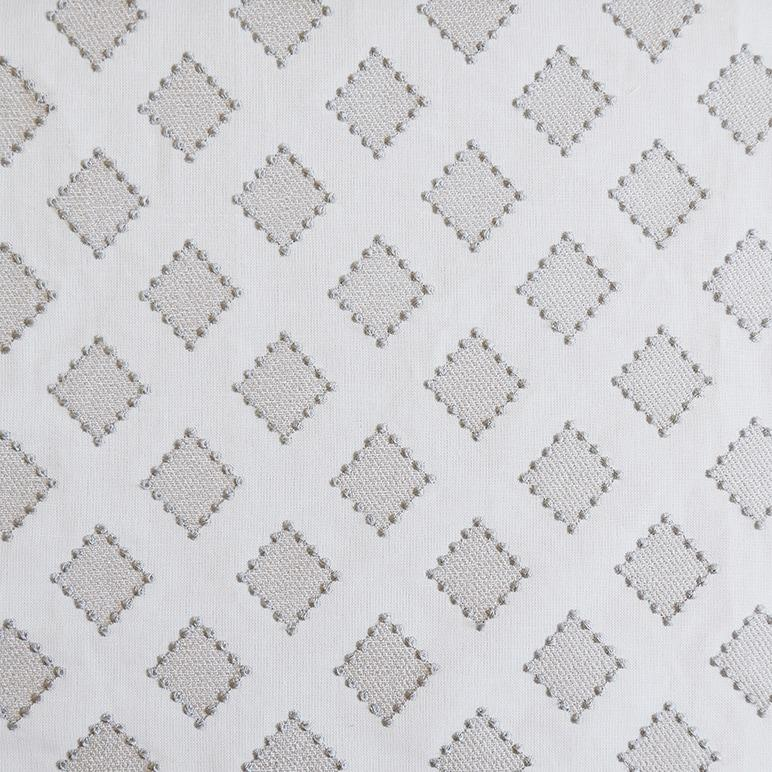 Diamond Dots Linen Fabric