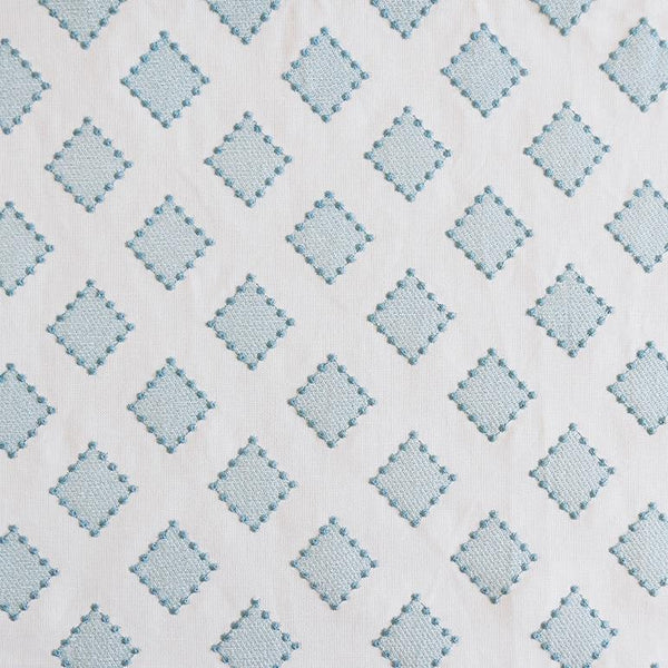 Diamond Dots Turquoise Fabric