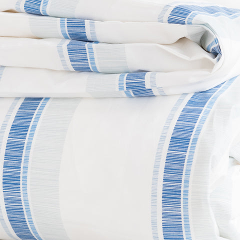 Oasis Stripe Duvet Cover + Sham Set