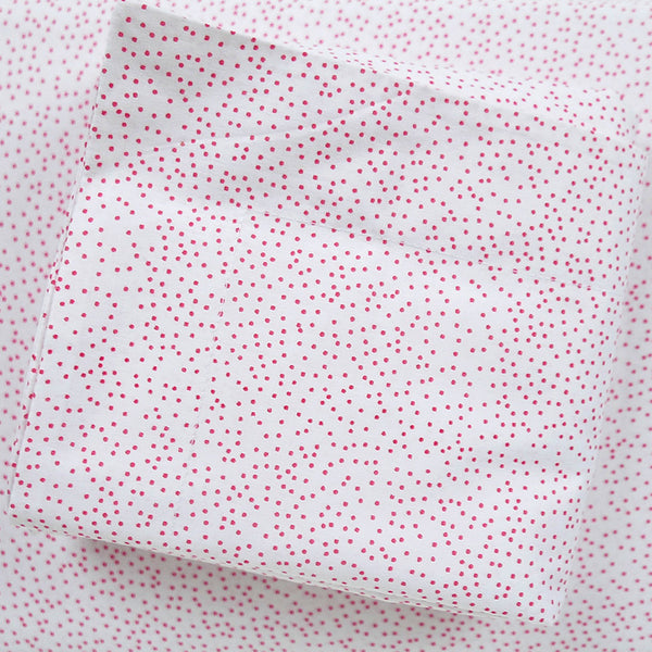 Pomegranate Sprinkles Duvet Cover + Sham Set (sizes: queen, king)
