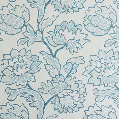 Geo Floral Grotto Fabric