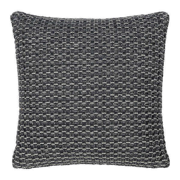 "Hopscotch Charcoal Accent Pillow Cover, 20"" x 20"""