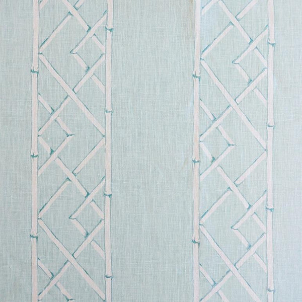 Latticely Aquamarine Fabric