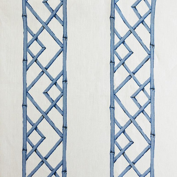 Latticely Ultramarine Fabric