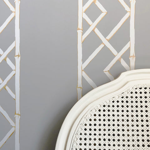 Latticework Citrine Wallpaper