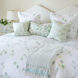 Grass Leaves Duvet Cover + Sham Set