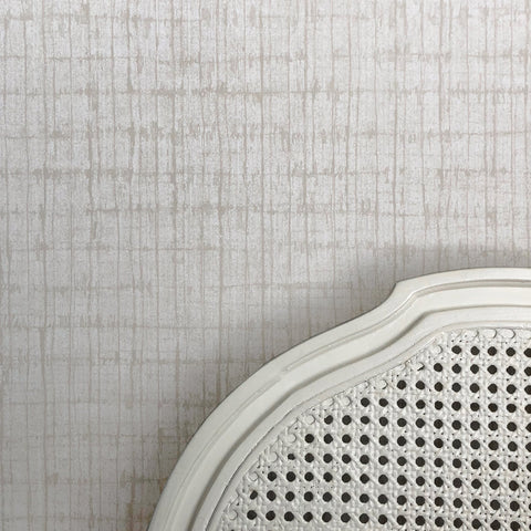 Palm Weave Linen Wallpaper