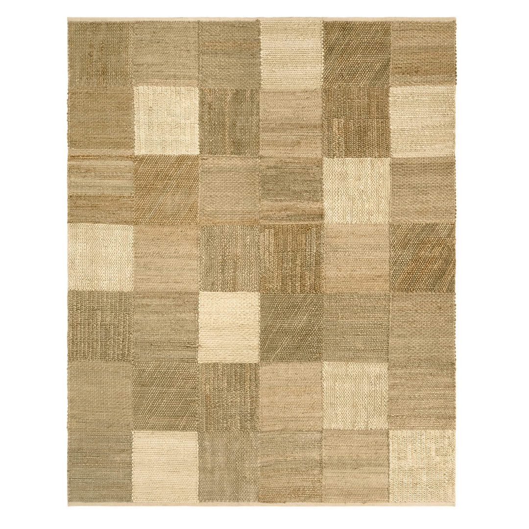 Patchwork Natural Rug