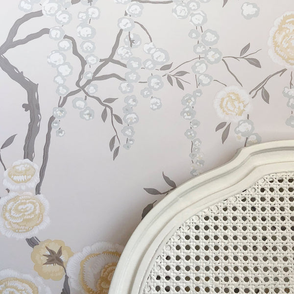 Peony Tree Citrine Wallpaper