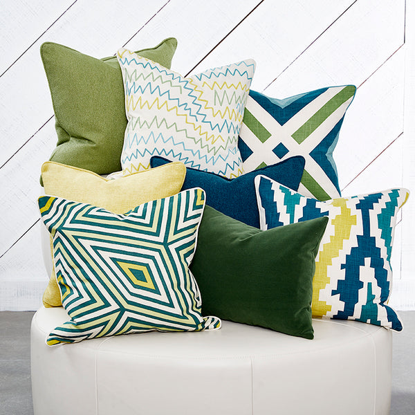 "Doodle Seaspray Accent Pillow Cover, 20"" x 20"""