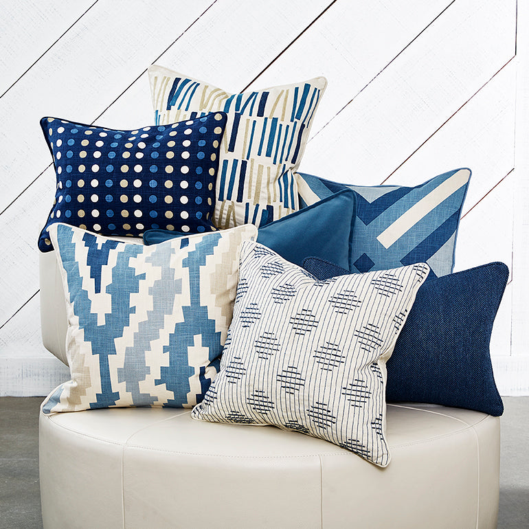 Tilt Denim Accent Pillow Cover 20 X 20 Sarah Style