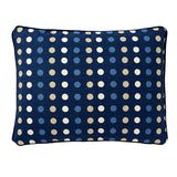 "Polka Denim Accent Pillow Cover, 15"" x 20"""