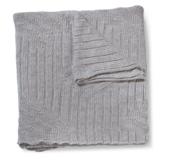 Ripple Oyster Throw Blanket