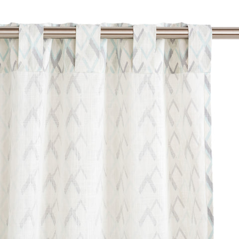 Pebble Peaks Drapery Panels, Set of 2