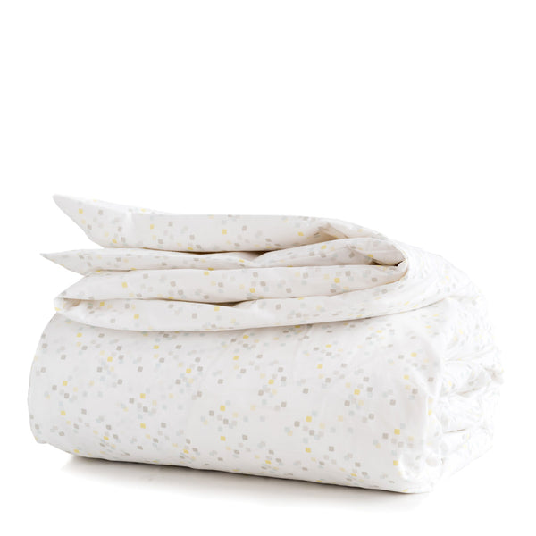 Lemon Confetti Duvet Cover + Sham Set