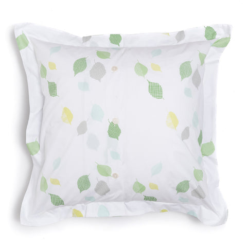 Grass Leaves Euro Shams, Set of 2