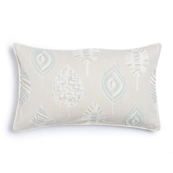 "Pebble 16"" x 26"" Mod Leaves + Peaks Reversible Accent Pillow Cover"
