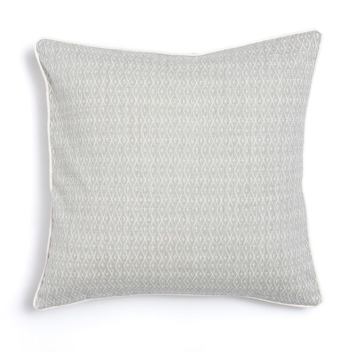 "Pebble 20"" x 20"" Triangles + Criscross Reversible Accent Pillow"