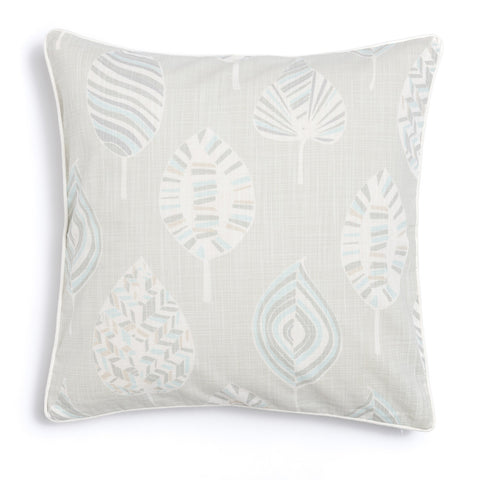 "Pebble 20"" x 20"" Mod Leaves + Peaks Reversible Accent Pillow"