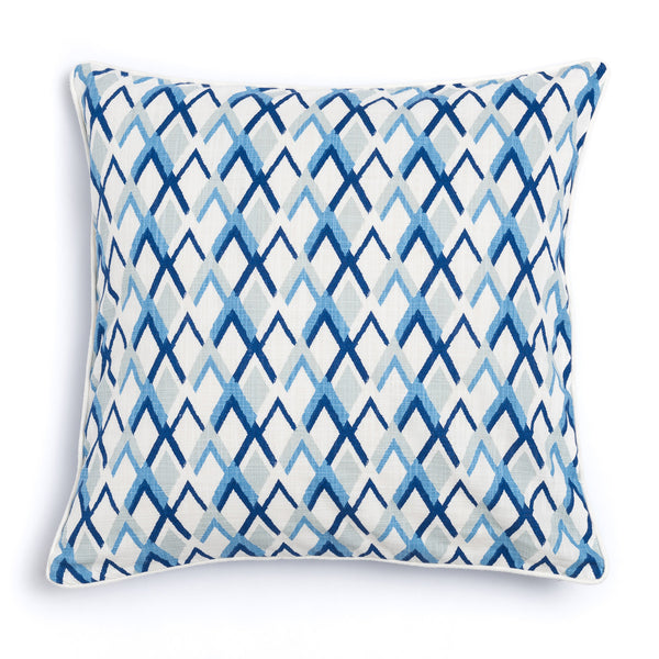 "Oasis 20"" x 20"" Criscross + Peaks Reversible Accent Pillow"