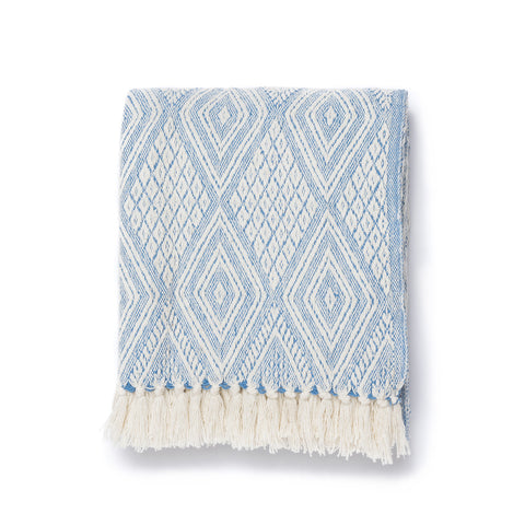 Oasis Diamond Throw Blanket