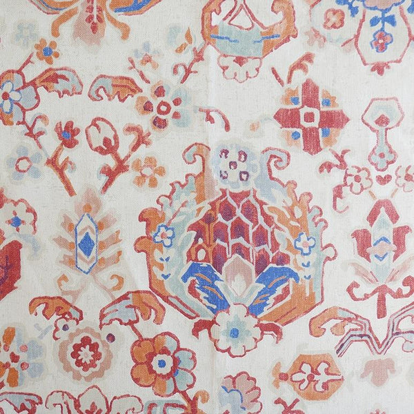 Sarouk Rug Berry Fabric