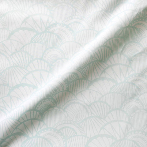 Seaglass Scallop Sheet Set