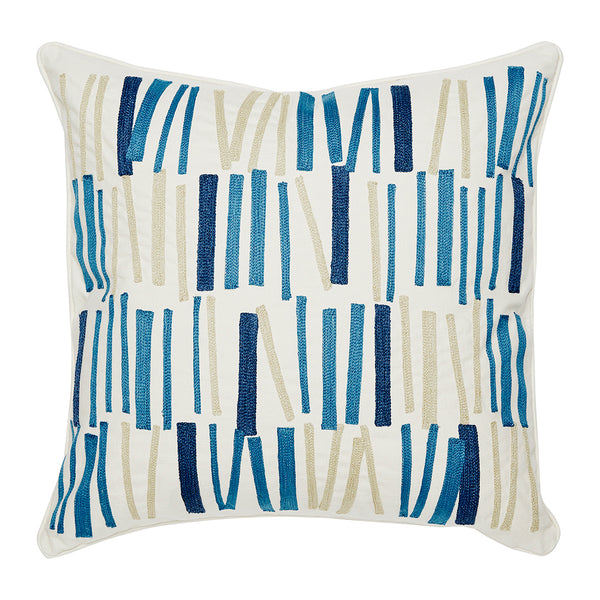 "Tilt Denim Accent Pillow Cover, 20"" x 20"""