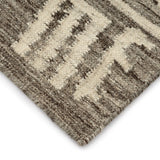 Collage Natural Wool Rug