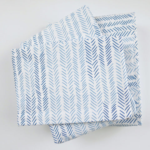 Celestial Etched Chevron Sheet Set (sizes: twin)