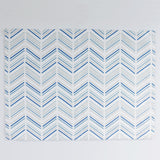Celestial Modern Chevron + Marble Placemats, Set of 4