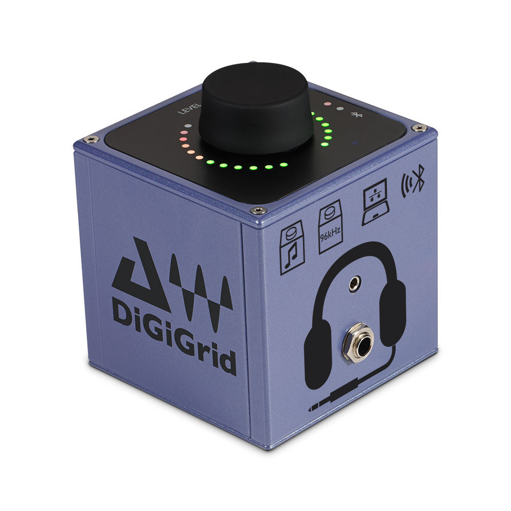 DiGiGrid Q - AES / Analogue / SoundGrid / Bluetooth Headphone Amplifier