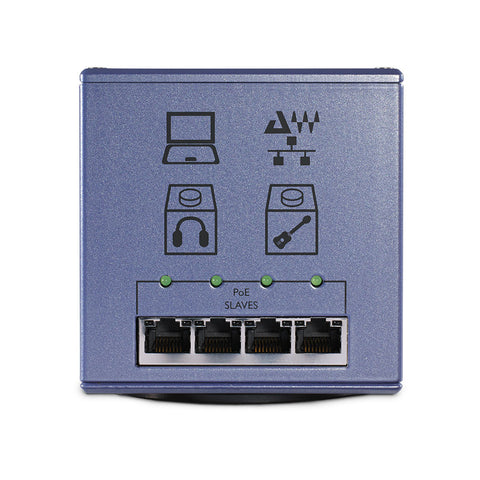 DiGiGrid S - SoundGrid Power over Ethernet (PoE) for Audio Interface Networks