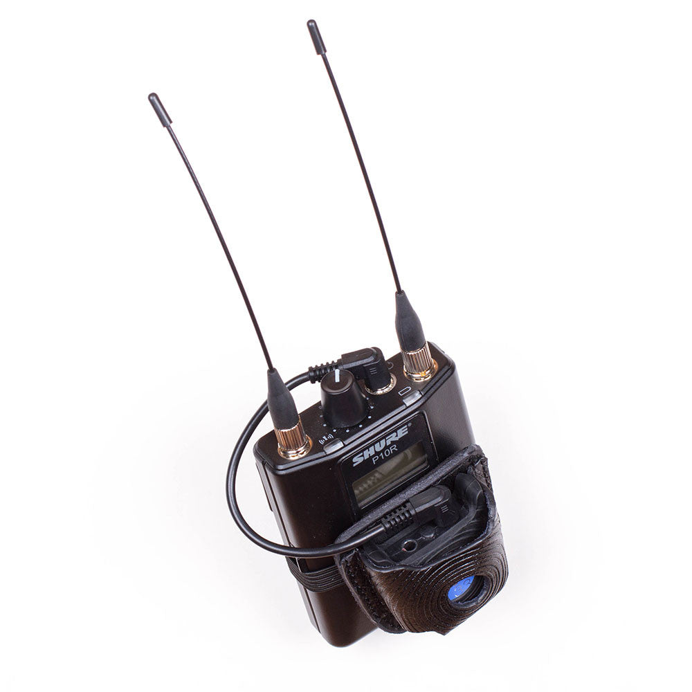 Shure SE215 In-Ear Monitors are matched to a REV33 Pro 510 Blue