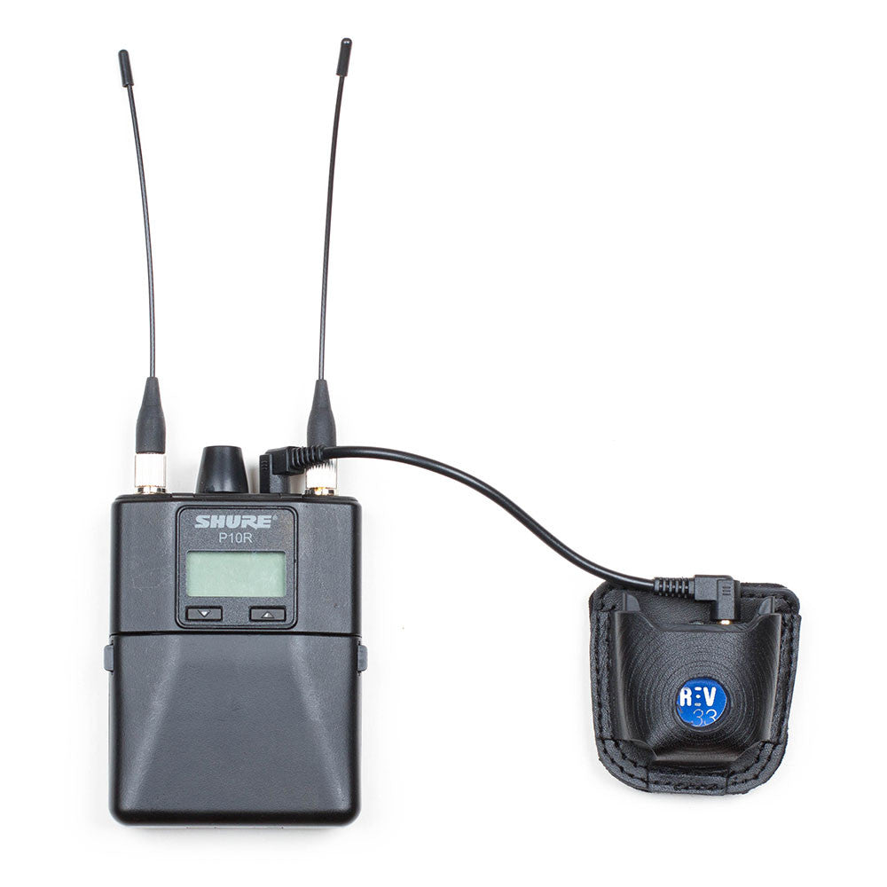Aurisonics ASG-2.5 In-Ear Monitors are matched to a REV33 Pro 510 Blue
