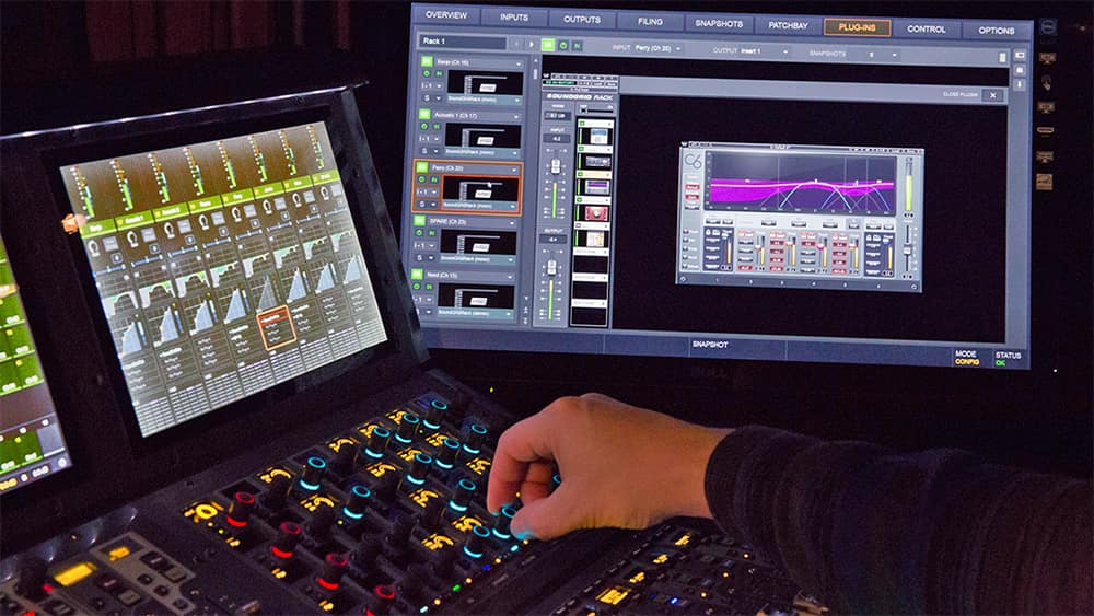 Waves SoundGrid Rack for AVID VENUE